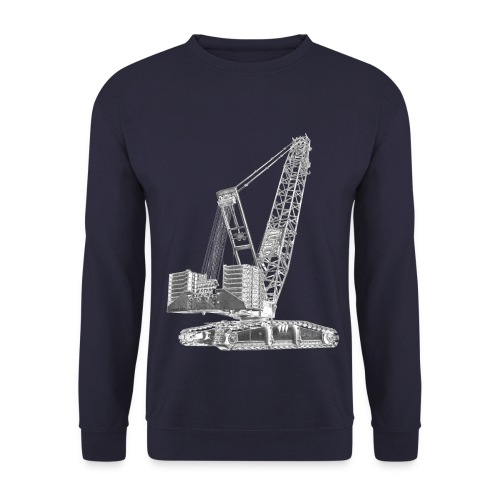 Crawler Crane 750t - Men's Sweatshirt