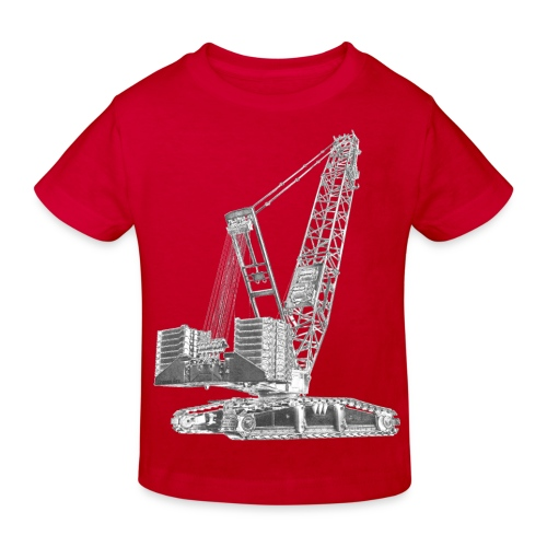 Crawler Crane 750t - Kids' Organic T-Shirt