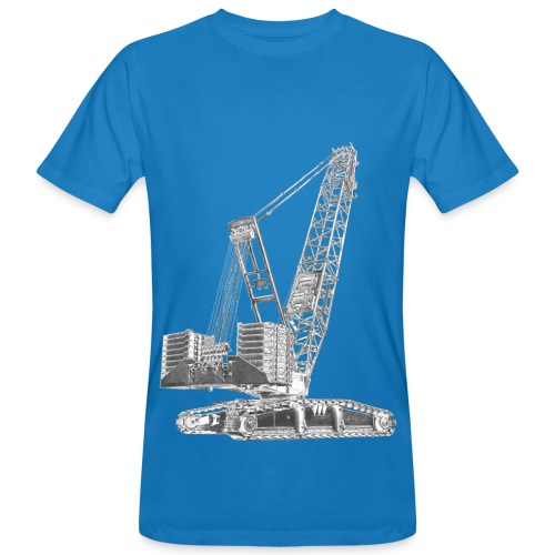 Crawler Crane 750t - Men's Organic T-Shirt