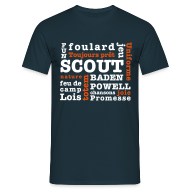 Tee shirts ~ Tee shirt Homme ~ Mots Scouts