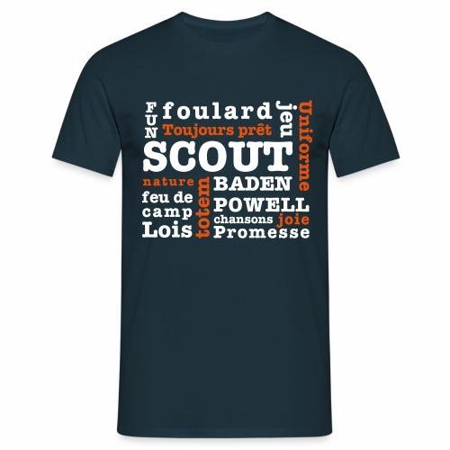 Mots Scouts - T-shirt Homme