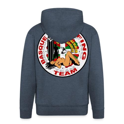 Basque Surfing Team - Men's Premium Hooded Jacket