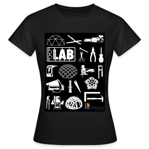 2012 Shirt front women white - Women's T-Shirt