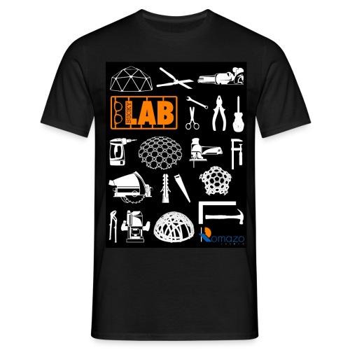 2012 Shirt front man orange - Men's T-Shirt