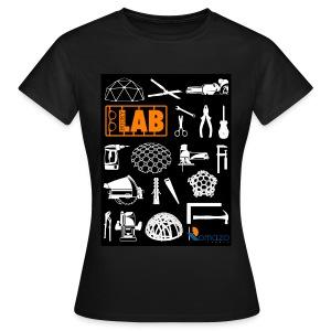 2012 Shirt front women orange - Women's T-Shirt