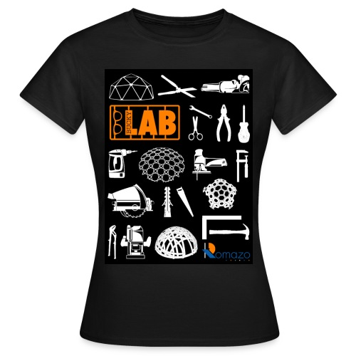 2012 Shirt front and back women orange - Women's T-Shirt
