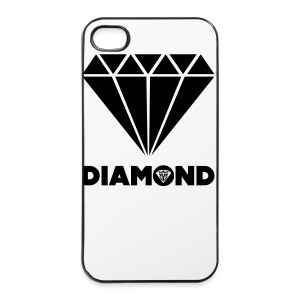 Coque iphone 4/4S Diamond - Coque rigide iPhone 4/4s