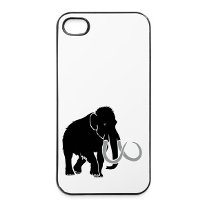 tier t-shirt mammut mammoth steinzeit jäger höhle elefant outdoor - iPhone 4/4s Hard Case