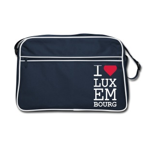 I ♥ Luxembourg - Retro Bag