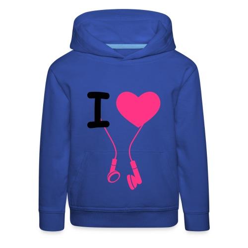 Meisjes sweater - Kinderen trui Premium met capuchon
