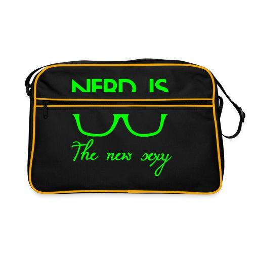 Stoere nerd- tas voor jongens en meisjes - Retro-tas