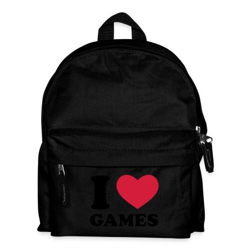 i love games - Kinder Rucksack