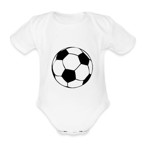 Fußball - Baby Bio-Kurzarm-Body