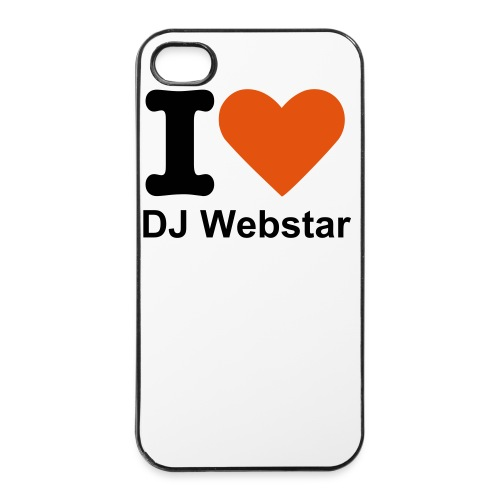 DJ Webstar IPhone Fan Case - iPhone 4/4s Hard Case