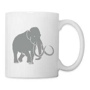 tier t-shirt mammut mammoth steinzeit jäger höhle elefant outdoor - Tasse