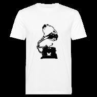 T-Shirts ~ Men's Organic T-shirt ~ Sound Nomaden Grammophone Shirt Men