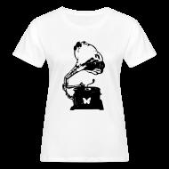 T-Shirts ~ Women's Organic T-shirt ~ Sound Nomaden Grammophone Shirt Women