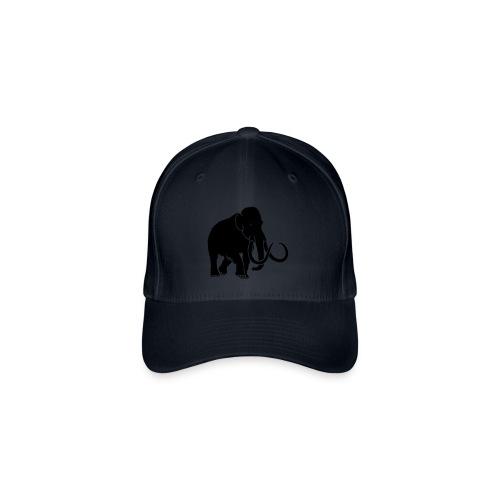 tier t-shirt mammut mammoth steinzeit jäger höhle elefant outdoor - Flexfit Baseballkappe