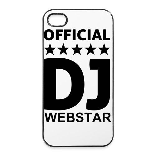 Official DJ Webstar IPhone Case - iPhone 4/4s Hard Case