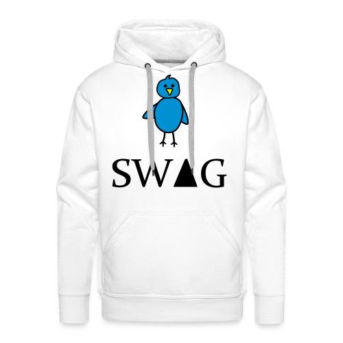 Tweet Swag - Mannen Premium hoodie