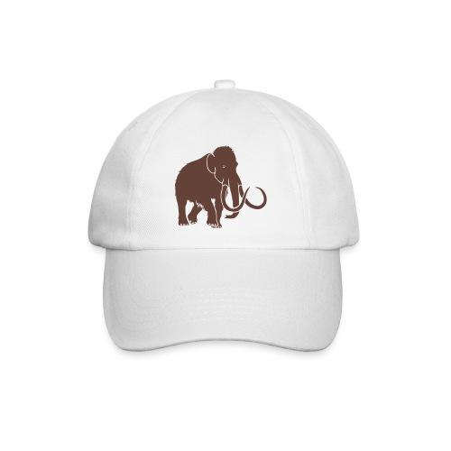 tier t-shirt mammut mammoth steinzeit jäger höhle elefant outdoor - Baseballkappe