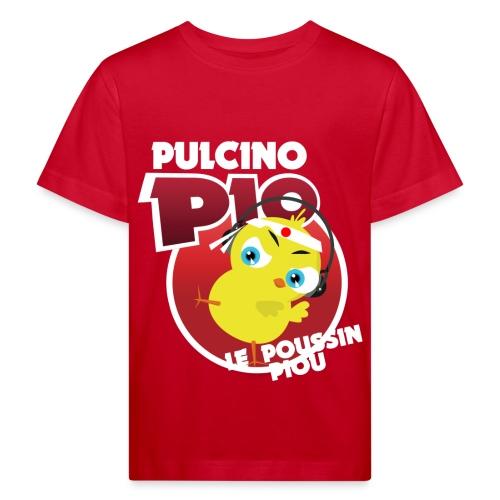 Tshirt Piou Ninja Blanc - T-shirt bio Enfant