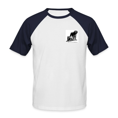 baseball-homme3 - T-shirt baseball manches courtes Homme