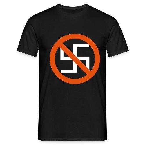 no nazis - Männer T-Shirt