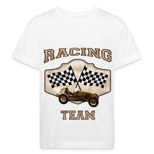 LuciWear Kids White T Racing Team - Kinderen Bio-T-shirt