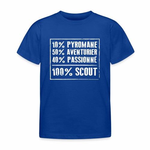 100% Scout - T-shirt Enfant