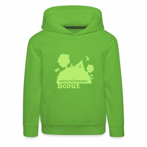 Naturellement Scout - Pull à capuche Premium Enfant
