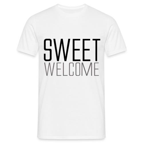 Sweet Welcome - T-shirt herr