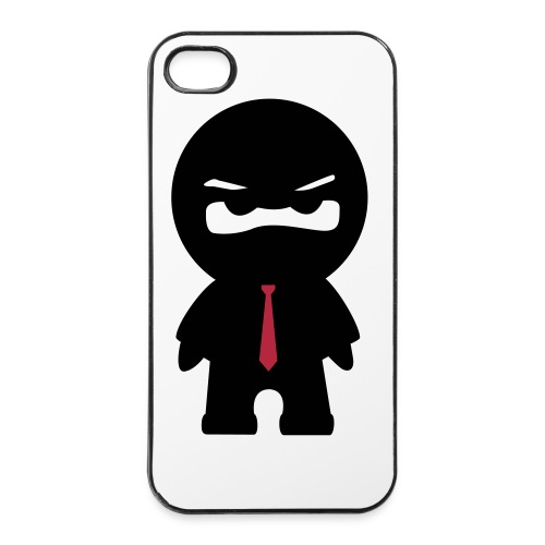 Ninja mit roter Krawatte - iPhone 4/4s Hard Case