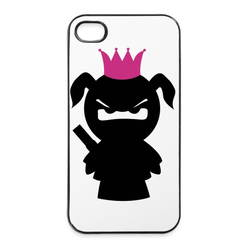 Ninjaprinzessin mit Schwert  - iPhone 4/4s Hard Case