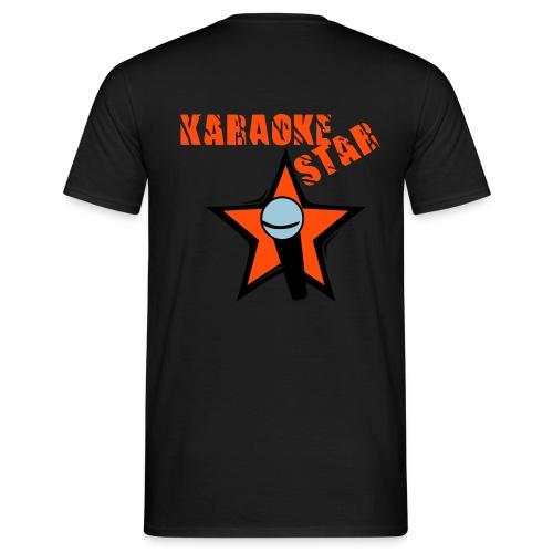 KARAOKE STAR - T-SHIRT - Männer T-Shirt