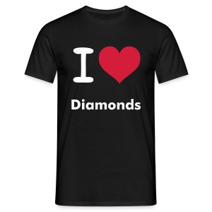 Man`s Diamond - Männer T-Shirt