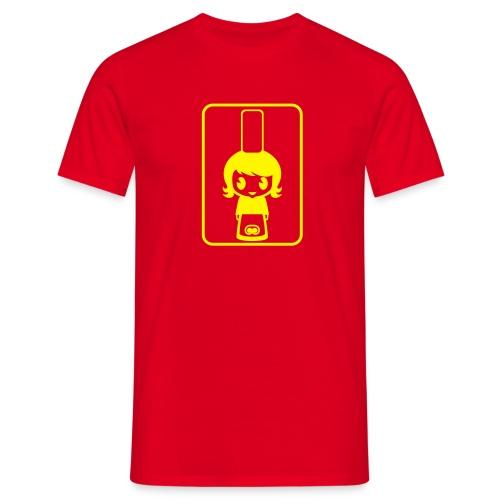 Bigoudène - Rouge/Jaune - T-shirt Homme
