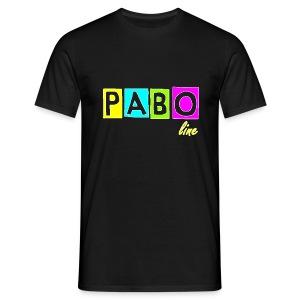 PABO line Männer T-Shirt klassisch - Männer T-Shirt