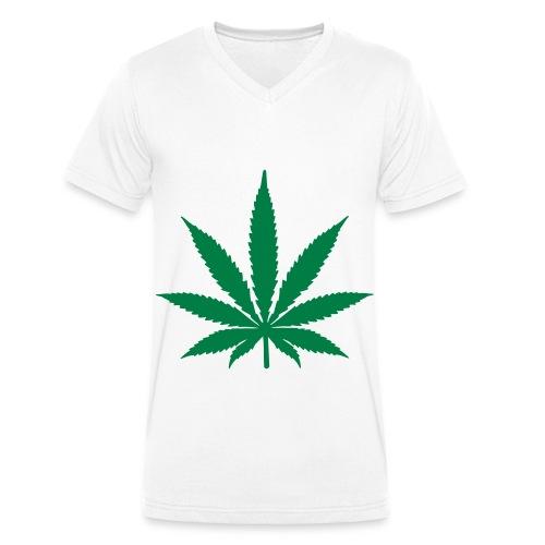 T-shirt Homme Col V Canne à Bis - T-shirt bio col V Stanley & Stella Homme