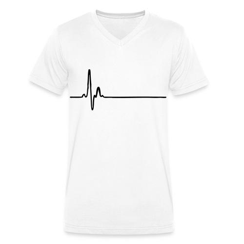 T-shirt Homme Col V Chirurgical Black - T-shirt bio col V Stanley & Stella Homme