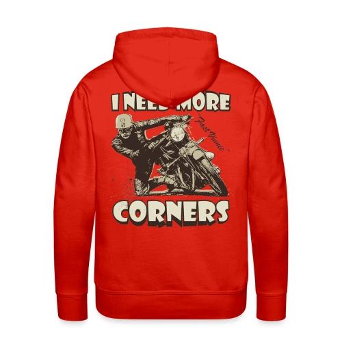 I need more corners  - Men's Premium Hoodie