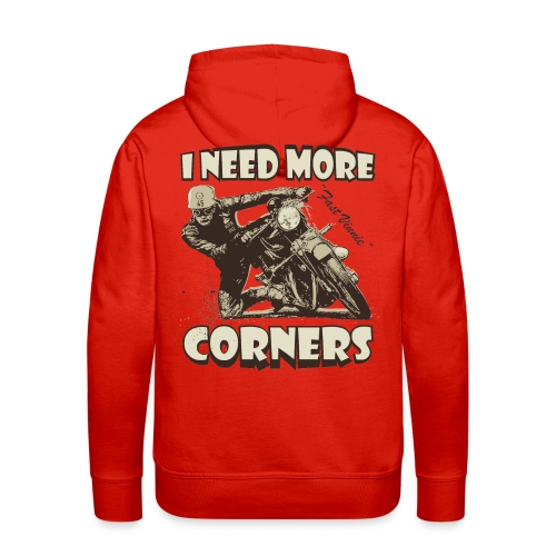 I need more corners  - Men's Premium Hoodie