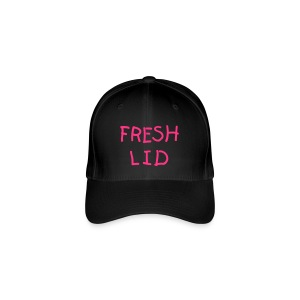 Black Fresh Lid - Flexfit Baseball Cap