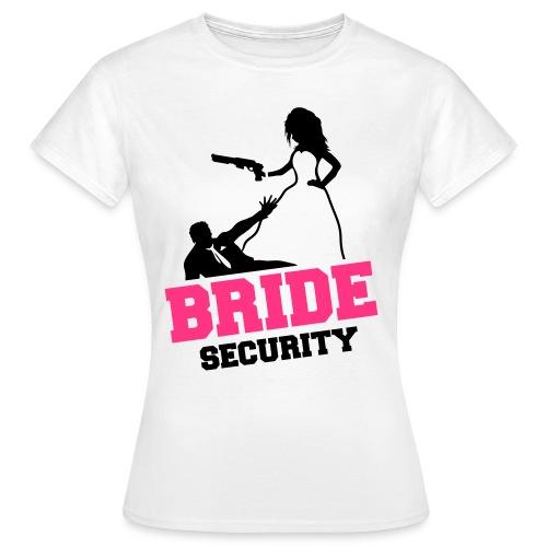 Bride Security - Frauen T-Shirt