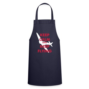 Keep Calm Keep Flying Spitfire - Cooking Apron