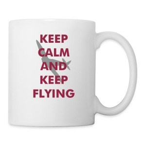 Keep Calm Keep Flying Spitfire - Mug