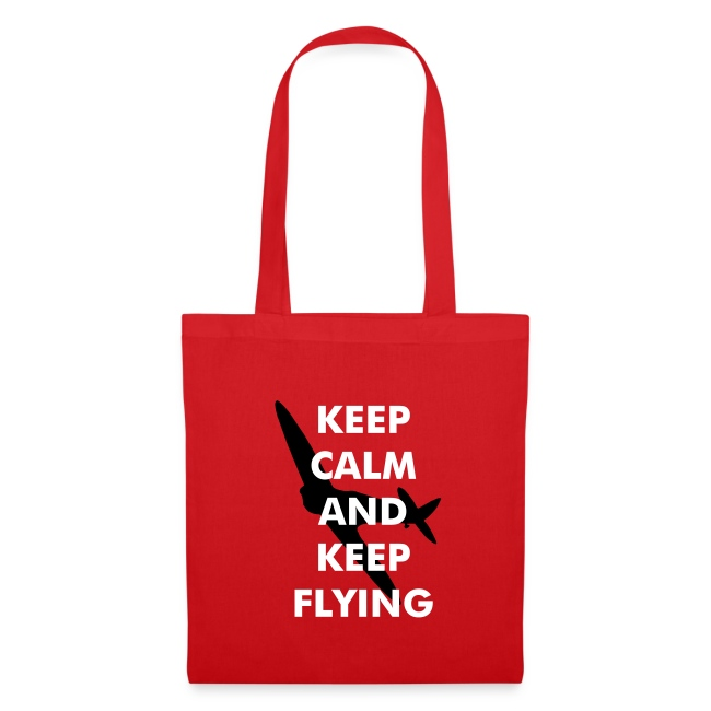 Keep Calm Keep Flying Spitfire