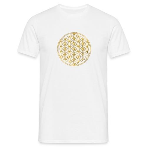 Blume des Lebens - Männer T-Shirt