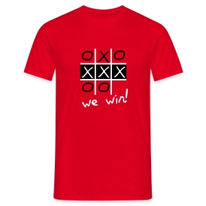 We are Amsterdam - We Win! - Mannen T-shirt