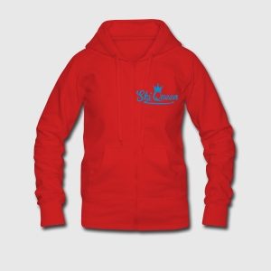 Ski Queen Hoodies & Sweatshirts - Women's Premium Hooded Jacket